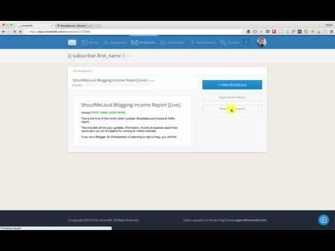 Check out Convertkit: http://ift.tt/1XO7nZO  Convertkit is a popular email marketing service that offers features like resend email to unopens. In this video guide you will learn how to use this feature & how I send email newsletter to opens.   Learn more about Convertkit:   ConvertKit For Beginners: http://ift.tt/25dKjpJ  How To Migrate an Email List From Aweber To ConvertKit in a Few Easy Steps: http://ift.tt/28WEDOa   If you enjoyed this video and would like to receive more similar…