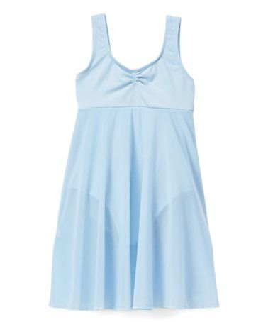 bf4296746 Another great find on  zulily! Light Blue Empire-Waist Skirted ...
