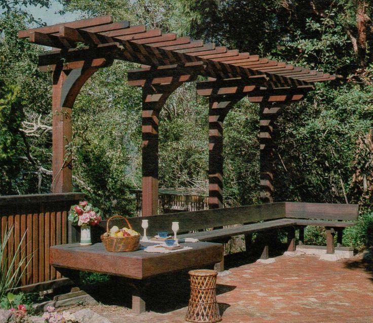 Pergolas Backyard And: The 25+ Best Small Pergola Ideas On Pinterest