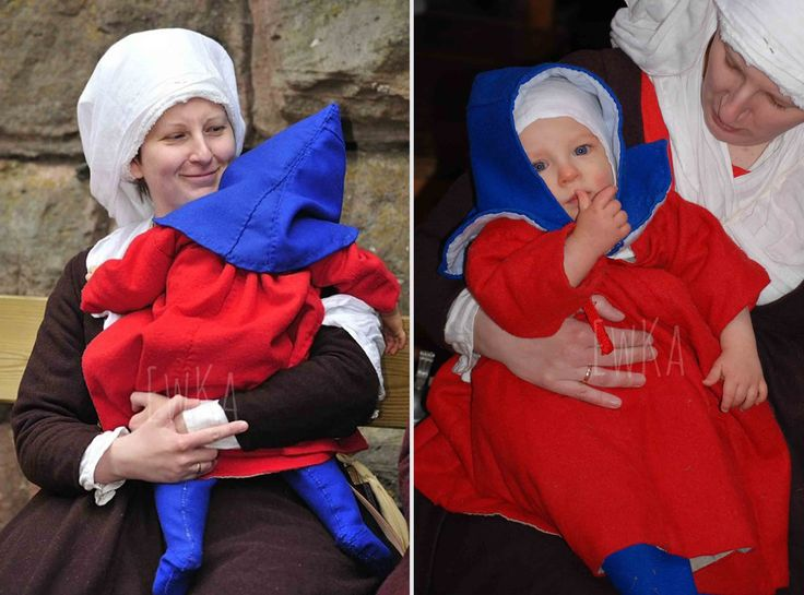 late medieval kids gown
