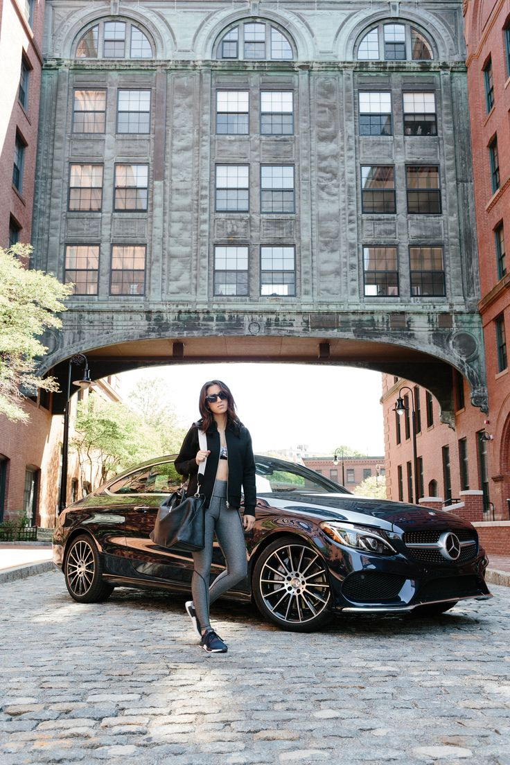 Instantly raises elegance and style to a sportier level. Photographer Courtney Ryan with @taniasarin and the Mercedes-Benz C-Class Coupé via @mercedesbenzusa #MBphotopass