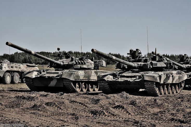 T-80U and T-90A.