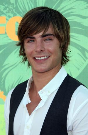 10 Young Male Star Hairstyles: Zac Efron