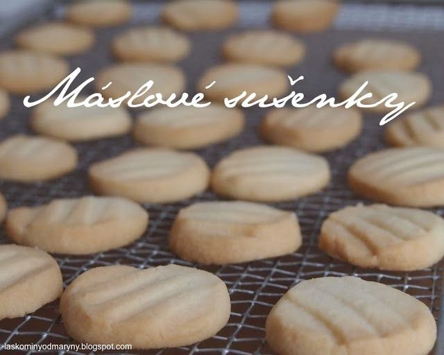 Laskominy od Maryny: Máslové sušenky