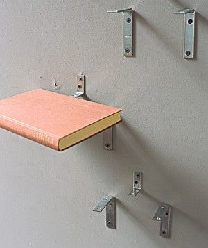 book shelf from a book (without damaging the book) If u have someone that likes to read in the restroom perfect!