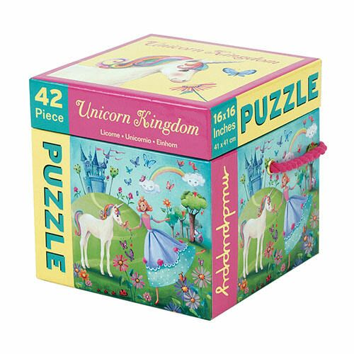 #Mudpuppy 42 Piece Puzzle -- #Unicorn Kingdom
