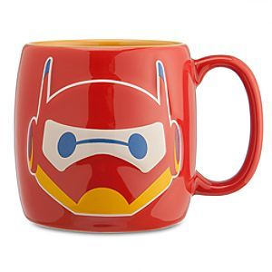 Disney Baymax Mech Mug - Big Hero 6 | Disney StoreBaymax Mech Mug - Big Hero 6 - Fuel-up for fast times with this big and shiny Baymax Mech mug. Make every morning more powerful with a sip of liquid excitement along with our red armored robot from <i>Big Hero 6</i>.