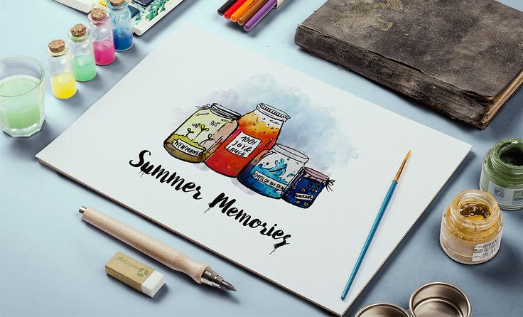Summer Memories on Behance