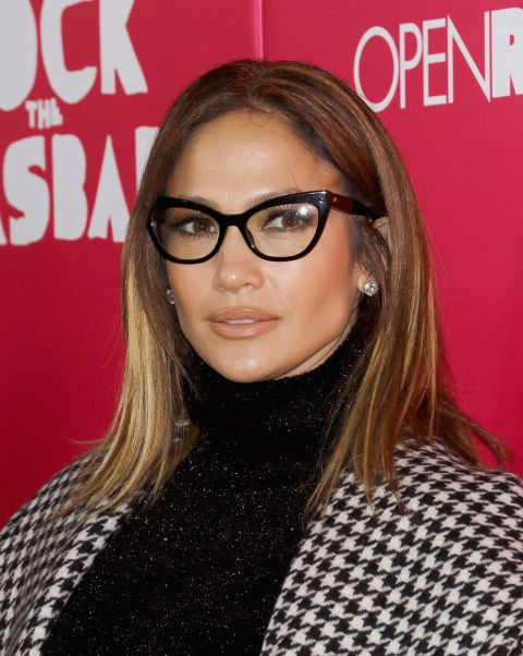 Best Hairstyles For Women - Hairstyles Of 2016 - SLEEK LOBS Wavy hair isn't the only way to work the ever-trendy lob. Blow it out straight to really show off the longer-in-front, shorter-in-back cut, and you can even add glasses a la J-Lo for an extra-chic look.