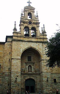 Iglesia de San Vicente de Abando Bilbao España.