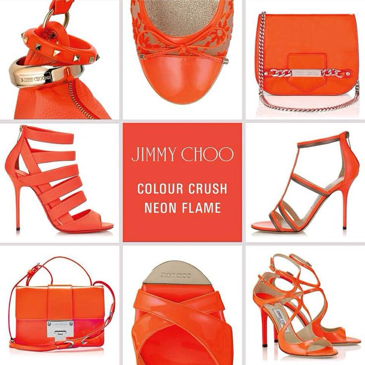 Neon Flame @Jimmy Choo ❤️ #fashion #style #stylish #accessories #TagsForLikes #me #pepitosa #photooftheday #jimmychoo #orange #neonflame #beautiful #instagood #pretty #swag #pink #girl #passion #neon #design #model #dress #shoes #heels #styles #outfit #purse #bags #shopping #glam