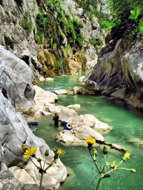 Valla Canyon- world's 2nd big canyon  Kastamonu, Turkey