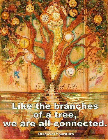 We are Branches of many different beliefs, but we are still the Same and we all come from the Same Source. <3 -Mary Long-