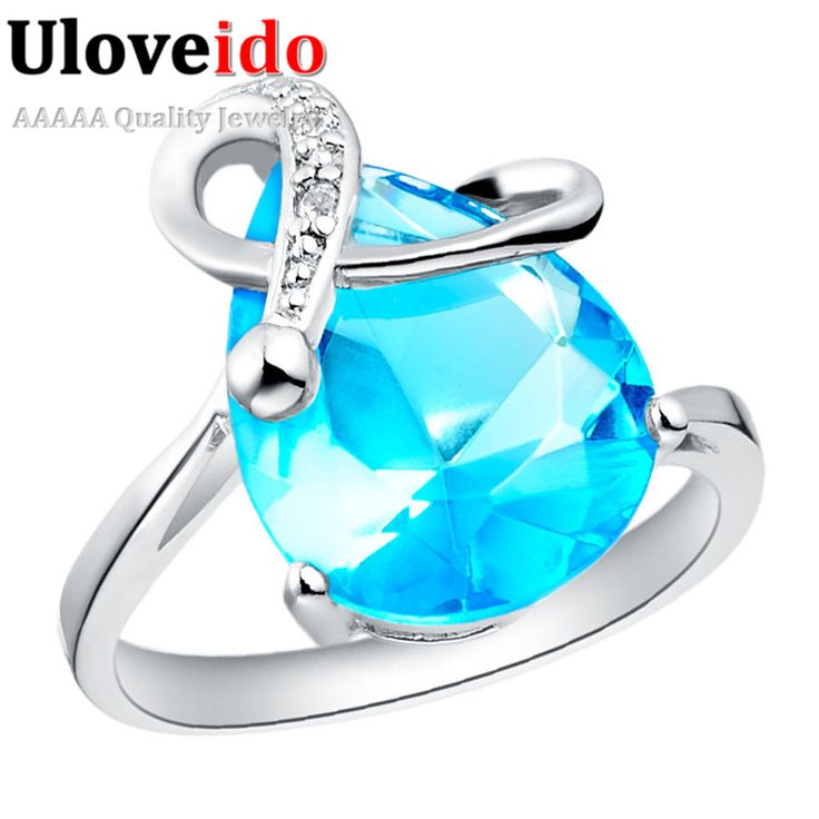Find More Rings Information about Ring with Big Blue Purple Stone Female Water Drop Shaped Rings Jewelery for Women Bijuterias Wholesale Discounts Ulove J097,High Quality jewelery glue,China jewelery cord Suppliers, Cheap jewelery ring from ULOVE Fashion Jewelry on Aliexpress.com