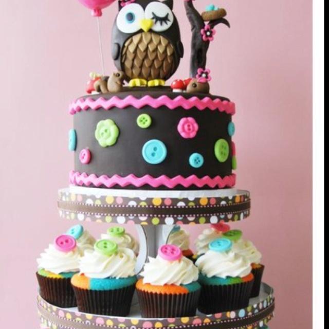 Owl chocolate cake: Cakes Ideas, Owl Theme, 1St Birthday, Girls Birthday, Owl Cakes, Owl Cupcake, Cupcake Towers, Baby Shower, Owl Birthday Cakes