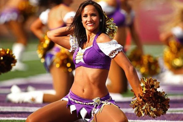 "Molly Mathys, Minnesota Vikings""Don't forget Molly!"""