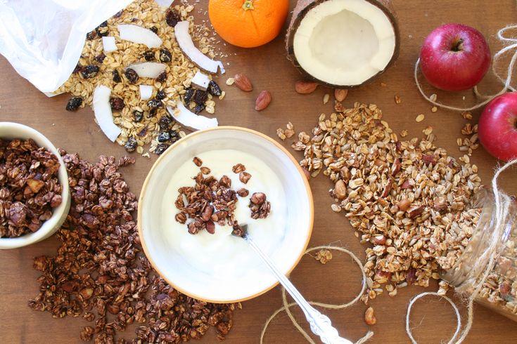 3x domácí granola + rozdíl mezi tichým zabijákem z obchodu a domácí výrobou