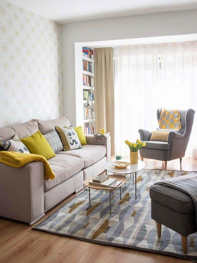 Como Conseguir Que Tu Casa Parezca Mas Grande Decoracion De Habitacion Gris Muebles Para Casas Pequenas Y Decoracion Living Pequeno