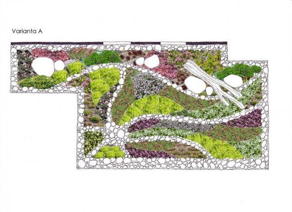 Střešní zahrada   Živá zahrada
