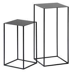 Consolas encajables de metal lacado (lote de 2) Romy AM.PM. - Consolas y Veladores