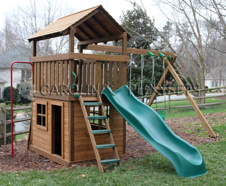 Ideas for mia 39 s playhouse jungle gym ideas for mia 39 s for Wooden jungle gym plans