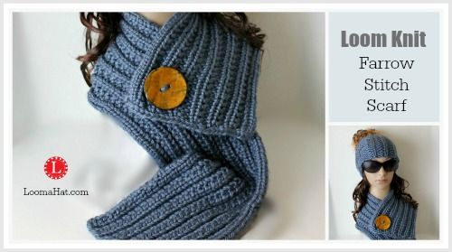 Loom Knitting Instructions For Scarf : 761 best ideas about Loom Knitting on Pinterest Knitting looms, Lion brand ...