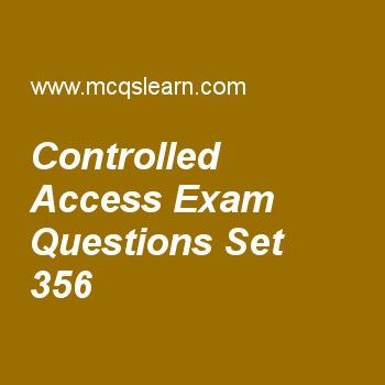 Practice test on controlled access, computer networks quiz 356 online. Practice networking exam's questions and answers to learn controlled access test with answers. Practice online quiz to test knowledge on controlled access, random access, registrars, frame relay and atm, frame relay in vcn worksheets. Free controlled access test has multiple choice questions as in token passing method, station can send data when it receives the, answers key with choices as data, token, both a & b and ...