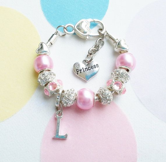 Gorgeous and Stunning Personalized Initial Bracelet.  by SPOILTiAM