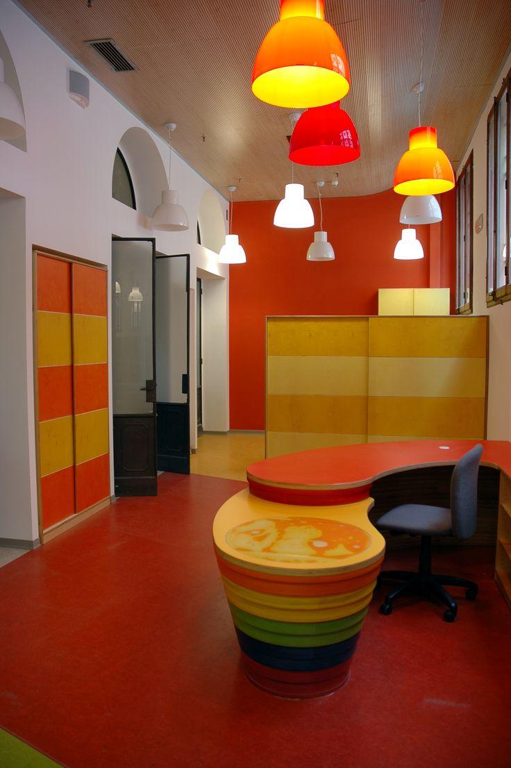 "Reception spazio Baby presso ""Biblioteca Sala Borsa"""