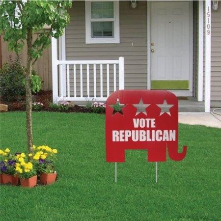 Vote Republican Yard Sign