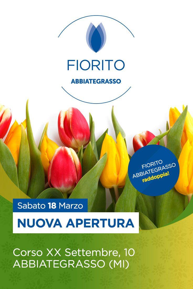 18 marzo, ore 10.30: #inaugurazione della nuova boutique in centro #Abbiategrasso! #Fiorito #newopening #business #fiori