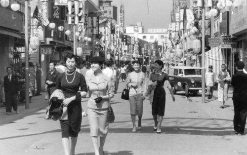 昔の神戸: 昭和29年