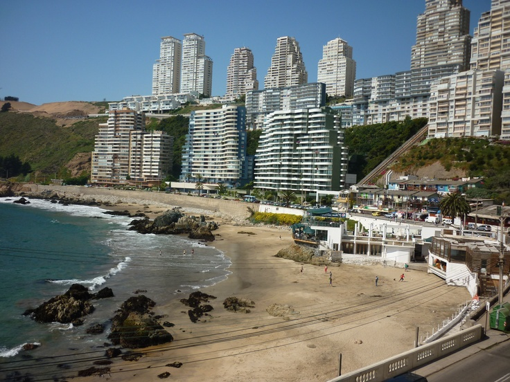 Renaca, Vina del Mar, Chile. Love this beautiful beach town right by the Pacific Ocean.