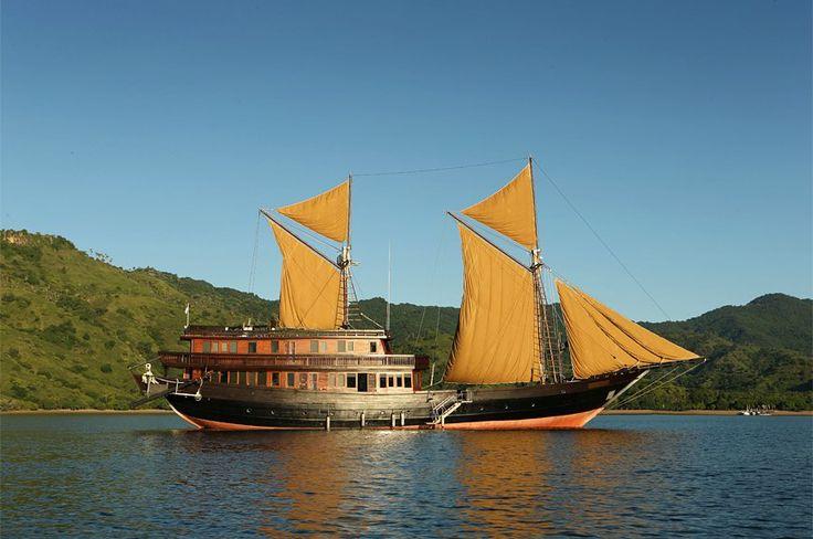 Land Ho! Komodo Island and beyond onboard Alila Purnama | Luxury Hotels Travel+Style