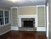 1000 ideas about shelves around fireplace on pinterest family room walls fireplace built ins. Black Bedroom Furniture Sets. Home Design Ideas