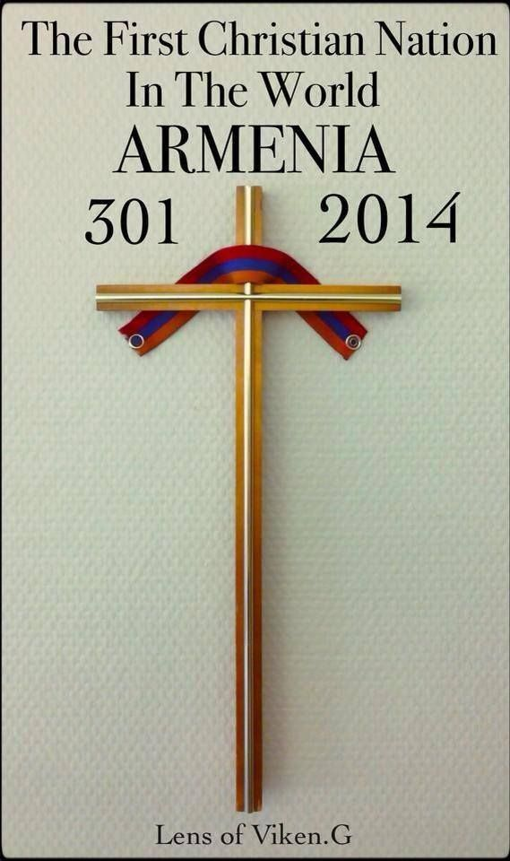 Amazing photo of Armenian Cross