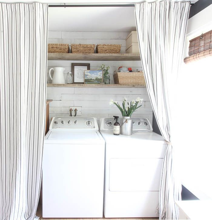 Inspiration For Every Room Rooms For Rent Laundry Room Curtains