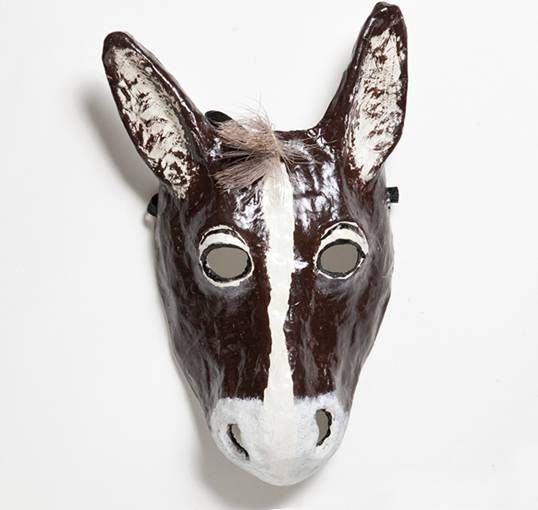 25 best ideas about donkey mask on pinterest horse mask for Donkey face mask template