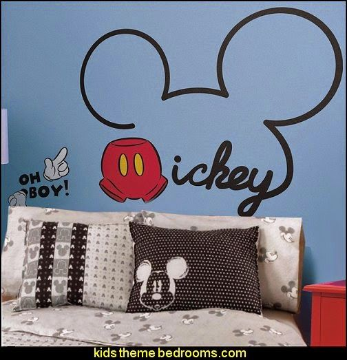 Mickey and Friends All About Mickey Peel and Stick Giant Wall Decals