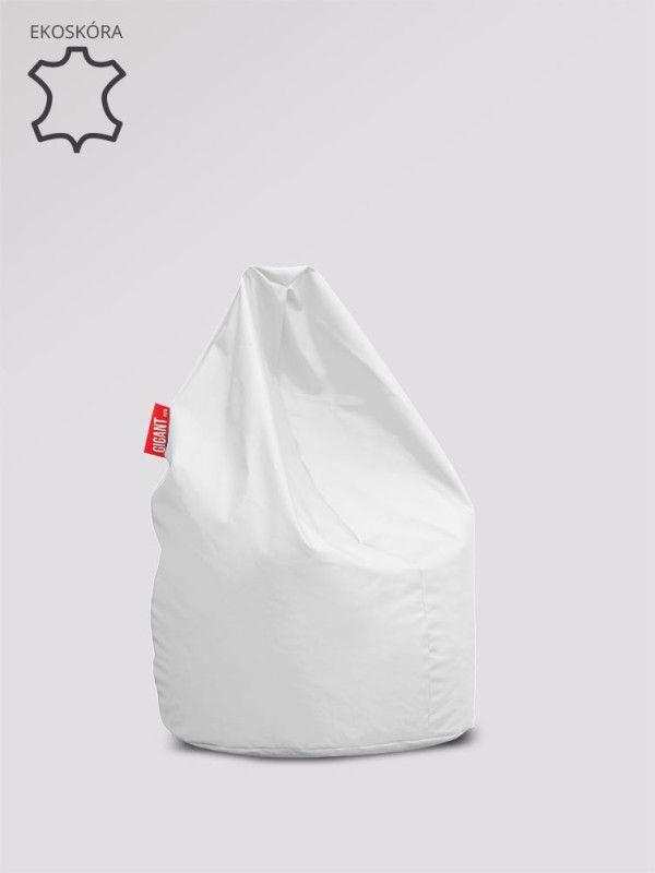 Pufa Xl ekoskora biala produkt pufashop