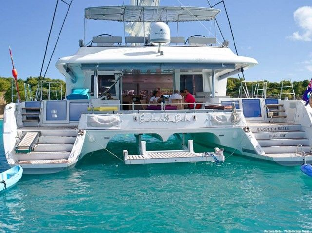 Charter catamaran Barbuda Belle is more affordable than you think #YachtWorldCharters #YWC