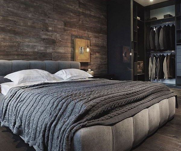 Masculine Bed Frames And Inspiring Bedroom Interior Ideas Modern
