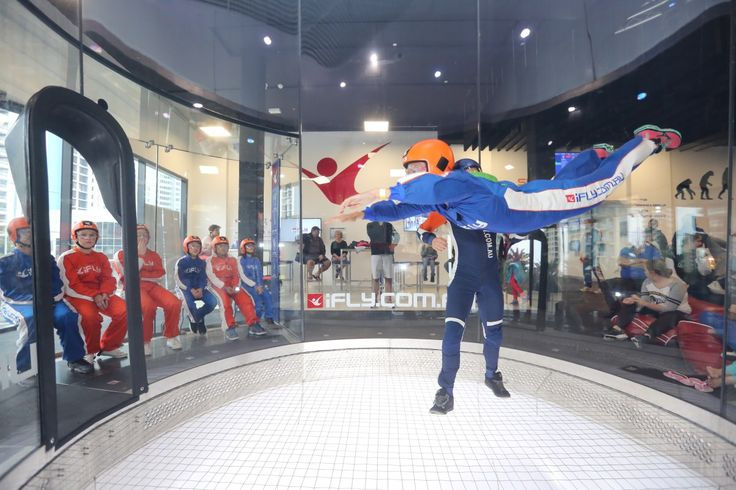 Have you tried iFLY, the latest fun thing in sport?