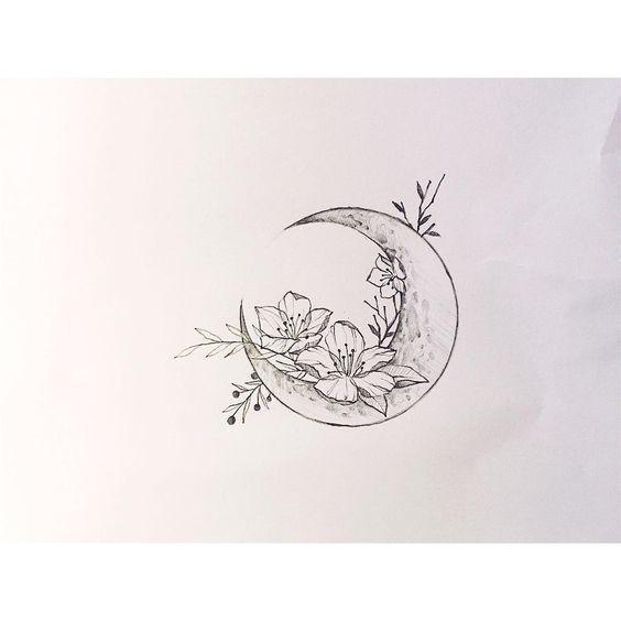 Tattoo Flower Tattoo einzigartiges Tattoo Tattoo Design #flowertattoos #flowertattoos #flowertattoos   – Dövmeler