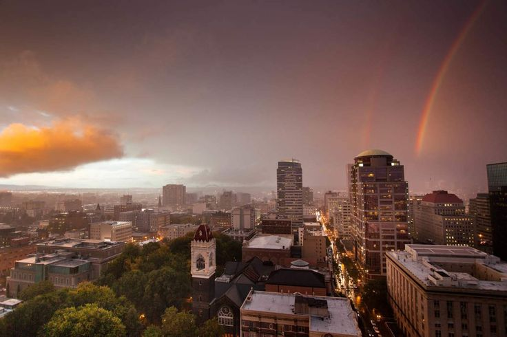 HOW TO SURVIVE PORTLAND'S RAINY SEASON: Stop complaining about the rain. You're #blessed.