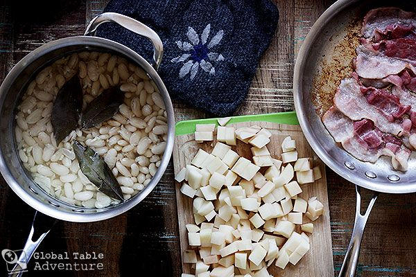 How to make Slovak Sour Bean Soup. Winter nums.