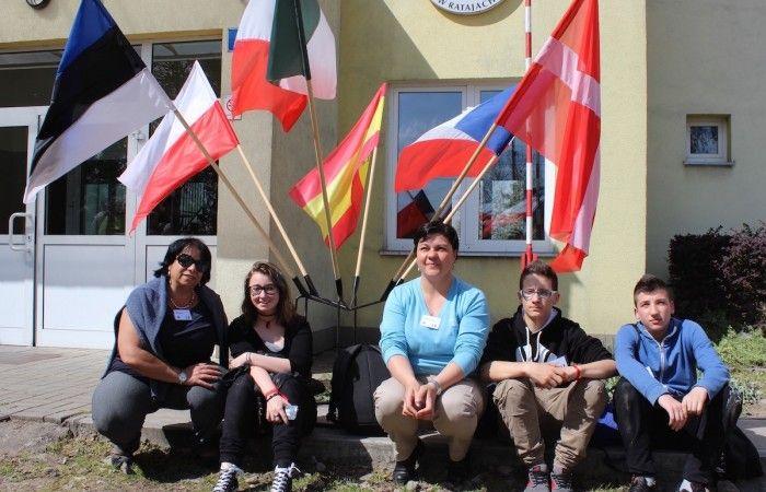 Młodzież i opiekunowie z Włoch