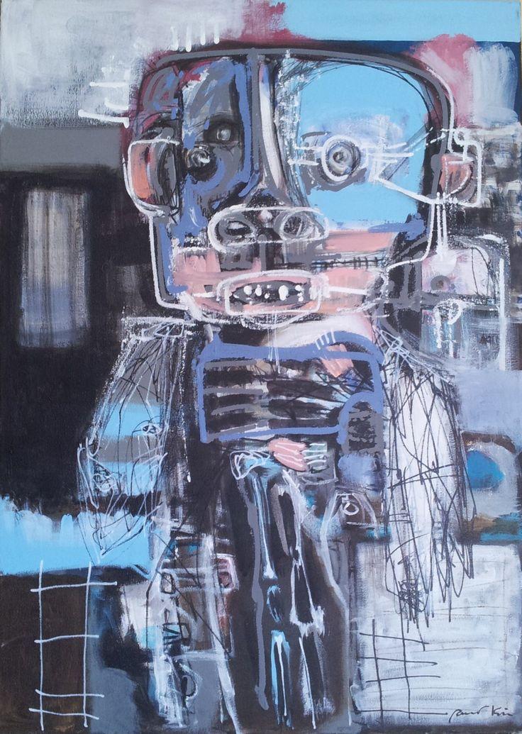 Pawel Kin - Dedal (acrylic on canvas)