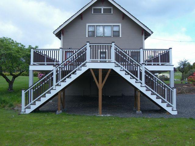 Trex Transcend Carport Deck! http://tntbuildersinc.com