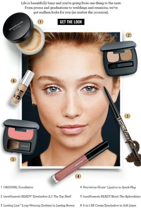 Diy Wedding Makeup Bare Minerals : 17 Best ideas about Bare Minerals Makeup on Pinterest ...